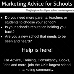 Marketing advise for Schools